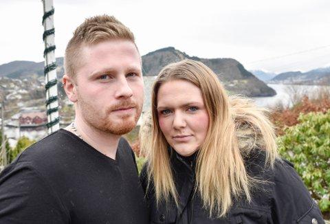 TRENG PREST: Annicka og Morten må finne ein prest som vil vie homofile, innan juli, om dei skal få kyrkjebryllaupet dei drøymer om i november. Annicka har sjølv ein bror som er homofil.