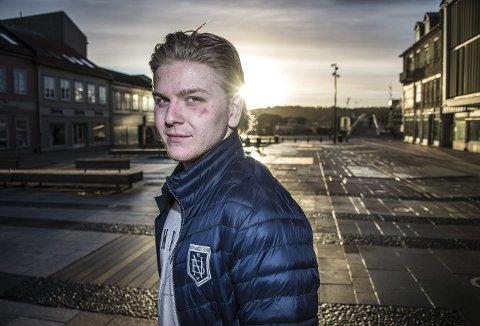 Andreas Heier er i hardt vær i Sverige etter en episode på isen.