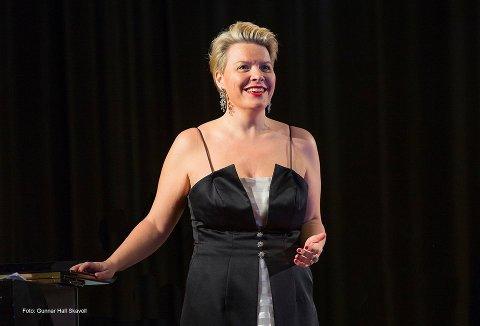 – Jeg synes det er hyggelig at min første konsert i år holdes i Fredrikstad, sier Merete Meyer.