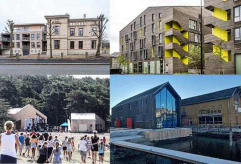 Pay-villaen, studentboligene på Bjølstad, friluftshuset på Storesand og bakeriet til Slippen er alle nominerte til Arnstein Arnebergprisen – Østfold Arkitekturforenings pris for fremragende arkitektur.