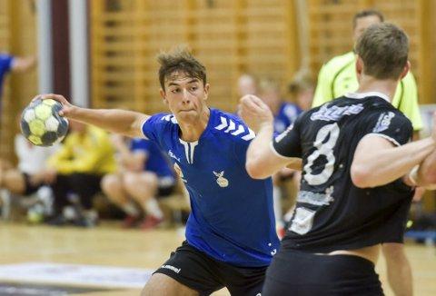 LOVENDE: Johannes Gurrich fra Holmestrand er en spiller Falk gjerne vil ha med i årene som kommer.