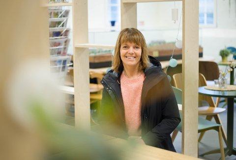 Gjennom den nye jobben som fritidsveileder kommer Marianne Bergset Tjetland til å tilbringe en del tid på Veveriet i året som kommer.