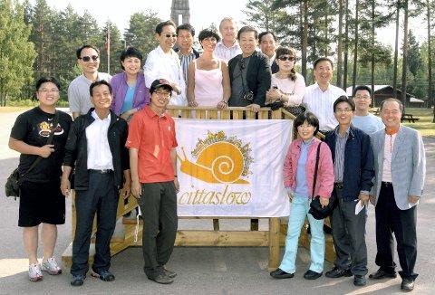 UTVEKSLING: Eidskog har utvekslet erfaringer med flere Cittaslow-kommuner rundt omkring. I 2009 var en delegasjon fra Sør-Korea på Cittaslow-besøk. Nå kan det bli slutt på slike erfaringsutvekslinger.FOTO: JENS HAUGEN (ARKIV)