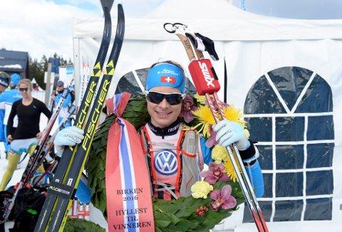 Seraina Boner fra Sveits vant kvinnenes eliteklasse i Birkebeinerrennet