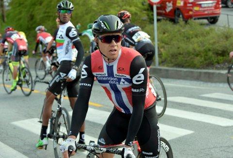 Edvald Boasson Hagen hadde en tung dag i Tour de France.