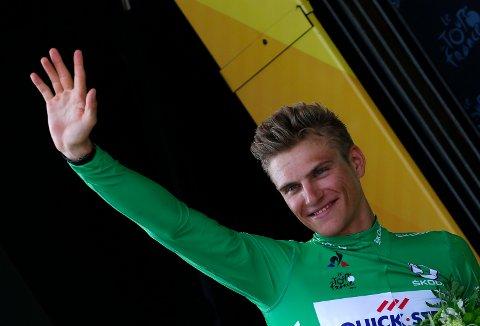 Marcel Kittel vant også onsdagens etappe i Tour de France.