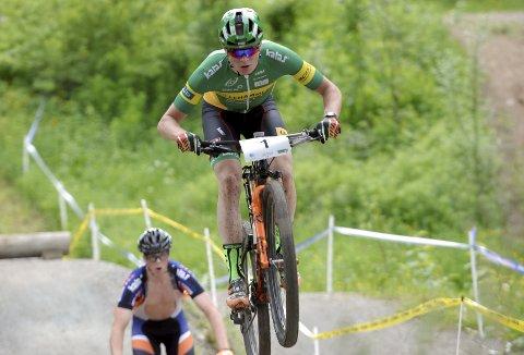 Petter Fagerhaug har vunnet et verdenscupritt denne sesongen. Nå er han tatt ut til EM.