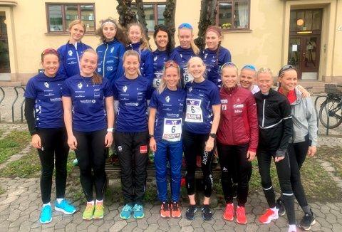 Lillehammer IFs damelag skuffet med en 11. plass i Holmenkollstafetten.