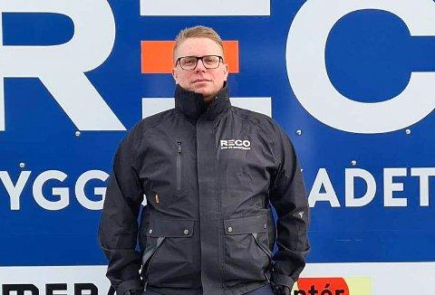 Stein Vidar Hegge, avdelingsleder Reco Bygg og Skadeteknikk AS Innlandet på Fåberg.