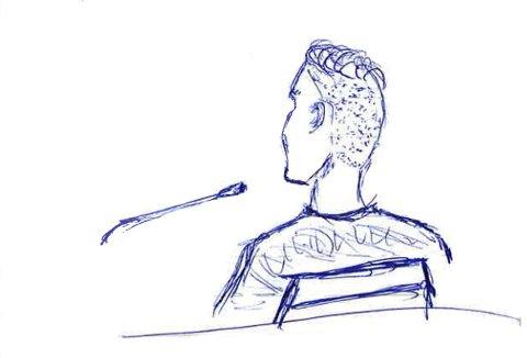 TROVERDIG: Den fornærmede i saken framsto ifølge lagmannsretten som troverdig. Tegning: Tor Arne Brekne, OA