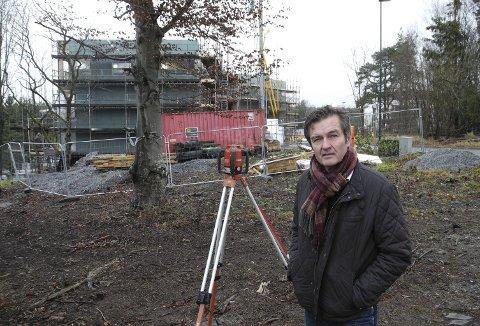 NYTT BYGGETRINN: – Augustaborg har blitt et utrolig populært område, sier megler Jan Erik Bakke i DNB Eiendom.Foto: Jan Erik Sørlie