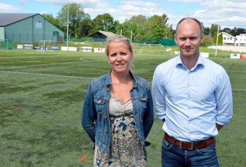 SAMARBEID: Marthe Forsth-Svensson i Kvik Halden skryter av samarbeidsviljen fra Ulf Ellingsen og Halden kommune.
