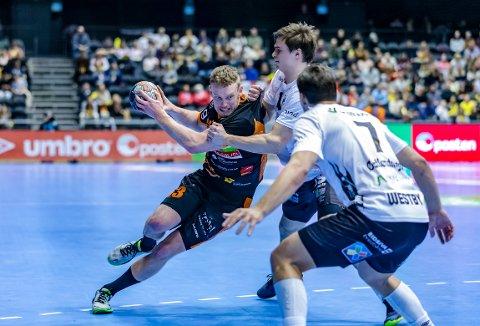 GOD: Gabriel Setterblom, HTH er tatt ut på månedens lag for desember i eliteserien håndball.