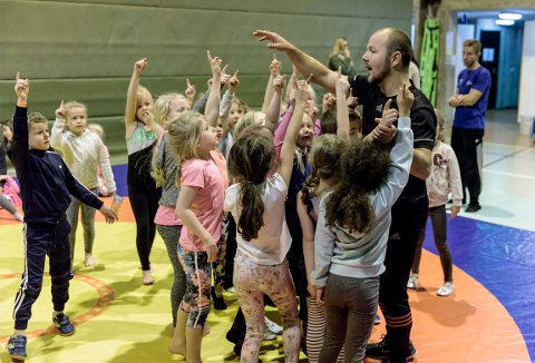 AVLYST: Aktivitetsdagen i turn, som skulle vært arrangert i Remmenhallen kommende lørdag, er avlyst grunnet koronapandemien.