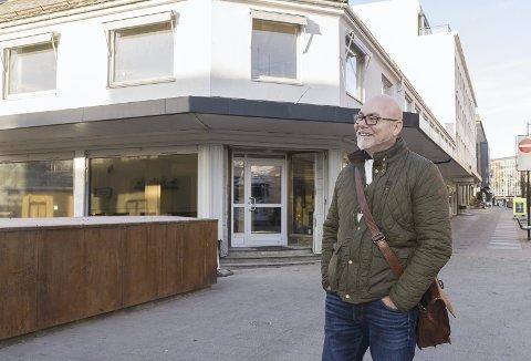 ANDRE ETASJE: I andre etasje på Torggata 42 etablerer Gard Engh i Eiendomsassistanse «Kontoret Hamar». Foto: Jo E. Brenden