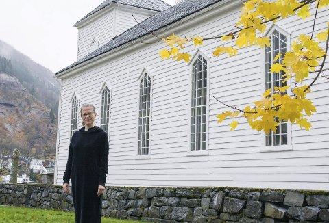 Jubileum: Sokneprest i Odda og Tyssedal, Margrethe Ølberg, ser på reformasjonsjubileet som eit viktig år for kyrkja.