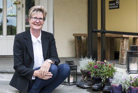 Nøgd: Camilla Reide Rise fortel at eit filmteam har budd på Trolltunga hotel, noko som naturleg nok har hjelpt på belegget.Arkivfoto: Sondre Lingås Haukedal