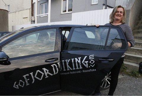 TAR OVER: Margaret Hystad i Karmsund Kapital AS står også bak satsinger som MS Gyda og mikrohytter i Åkrafjorden. Nå kaster de seg inn i Hardangerregionen og tar over Utne hotel.