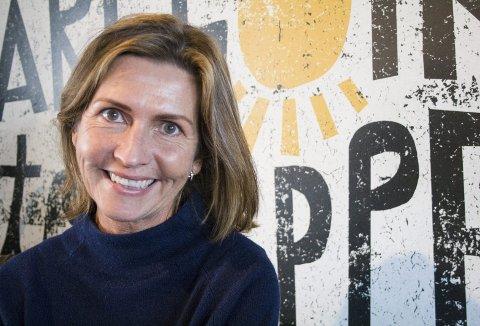 GLEDER SEG: Tina Røvær ser fram til ekstra flotte Kulturnatt-opplevelser. Tilbudet har  tjueårsjubileum i år.