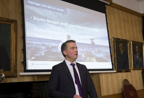 VIKTIG: Sveinung Stensland mener endringen er viktig for lokale sjøfolk.