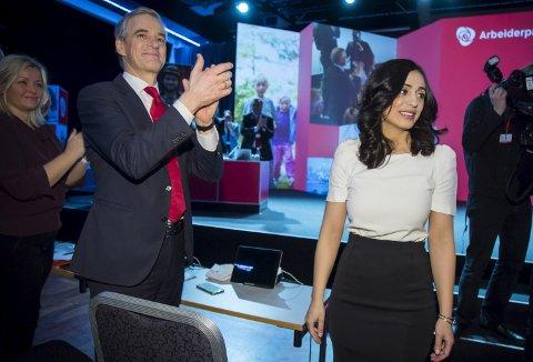 TRENGER NY LEDELSE: Hadia Tajik bør erstatte Jonas Gahr Støre som partileder i Arbeiderpartiet, mener Steffen Kristensen fra Kolnes. FOTO: NTB scanpix