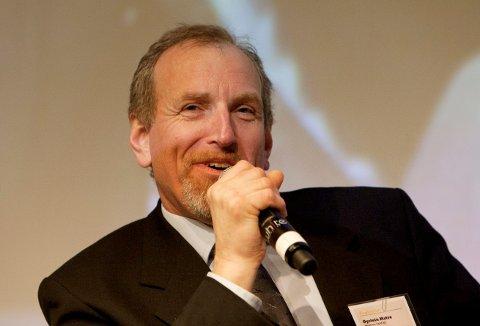 NY KONTRAKT: Administrerende direktør Øystein Matre forteller at krilltråler-kontrakten er med på å fylle ordrebøkene.