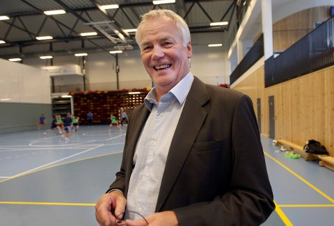 REDDET AV HÅNDBALLFORBUNDET: En glad og fornøyd styreleder Johan Rokstad i HHK.