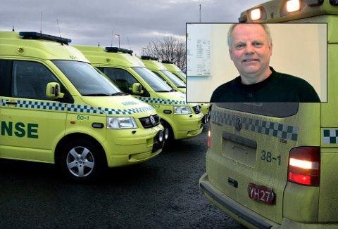 Eigil Horsdal (innfelt) sendte et brev til direktør Paul Martin Strand på Nordlandssykehuset om varsel om politianmeldelse i forbindelse med høy overtidsforbruk.