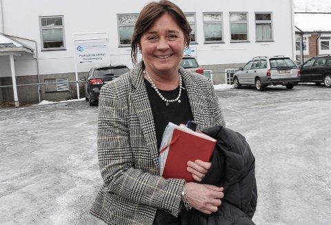 Cecilie Daae, administrerende direktør i Helse Nord hadde det travelt da hun besøkte Helgeland torsdag.