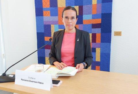 FORTSATT BEKYMRET: Ordfører Marianne Sivertsen Næss er fortsatt bekymret over situasjonen i Hammerfest. Foto: Eilert Sundt, Hammerfest kommune