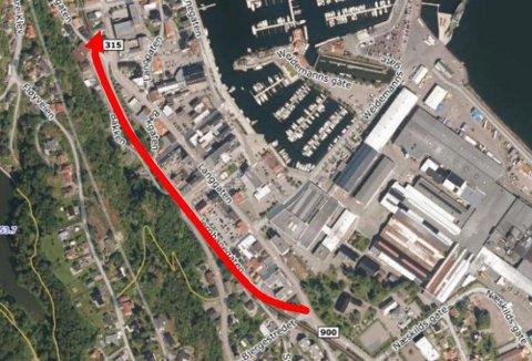 NY FASE: Statens vegvesen vet hvor veien skal gå. Nå vil det ta ett år å spikre alle detaljene.