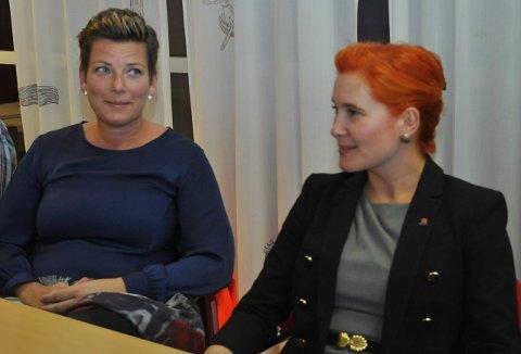 Frp ved Henriette Fluer Vikre og Rødts Charlotte Therkelsen Sætersdal mangler bare åtte stemmer på å stjele KrFs andre mandat.