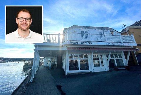 GOD RESPONS: Heljar Hogner ved Sørmegleren Kragerø tror P.A. Heuchs gate 17 snart får ny eier.