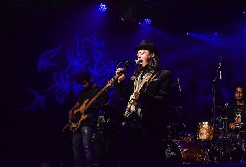 Bluesrock: Det nepalske bluesrockbandet Ashesh & Nekhvam leverte alt de hadde på Energimølla onsdag kveld.Alle Foto: Natalia C. Heinrich
