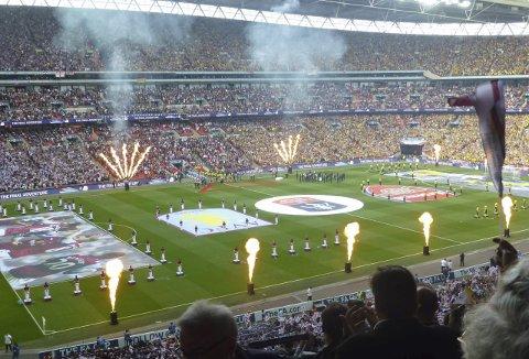 Wembley: Vinneren av Tippemesterskapet stikker av med en langhelg til London og billett til FA Cup-finalen på Wembley.Arkivfoto: Kristian Rothli