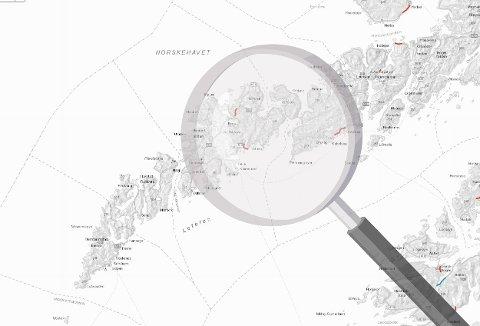 ASFALT: Det er planlagt ny asfalt noen få steder i Lofoten i år, viser dekkeleggingskartet til Statens vegvesen.