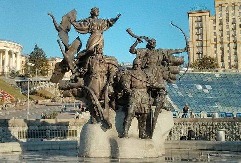 Fra den ukrainske hovedstaden Kyiv, som er stolte av sin vikingrelasjon.