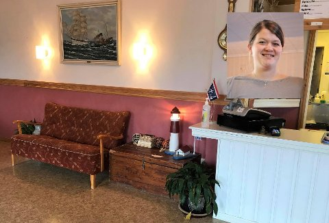 Anita Malmin, styrer på Fiskarheimen Havly i Stamsund, kan fortelle at coronastengingen har ført til at de har fått gjort en del lettere oppussing i lokalene.