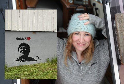 Runhild Olsen med Hanna Kvanmo (innfelt)