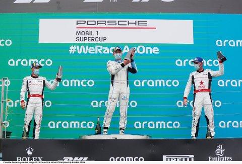 FEIRET: Roar Lindland kunne feire seieren på Hungaroring for to uker siden. I dag er det tradisjonsrike Silverstone som gjelder.