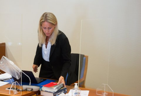ERSTATNING: Bistandsadvokat Berit Therese Knudsen vil kreve erstatning for sin klinet, som ble hardt skadet ved det voldsomme overfallet i Lyngdal i fjor sommer.