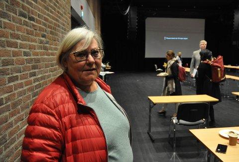 ER KLAR: Leder av Fagforbundet Moss og Våler, Hilde Torgersen, er i full forberedelse til en eventuell streik dersom meklingen ikke fører til en enighet. – Det må legges noe på bordet i år, sier hun.