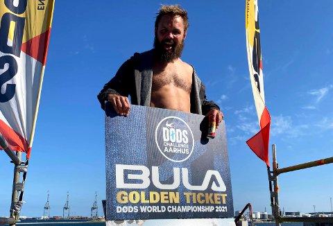 VANT: Simen Mathisen (45) vant i Aarhus denne helgen. Han sikret seg dermed en plass i VM.