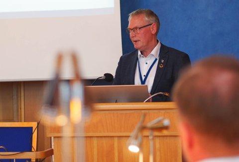 Kommunedirektør Morten Wolden.