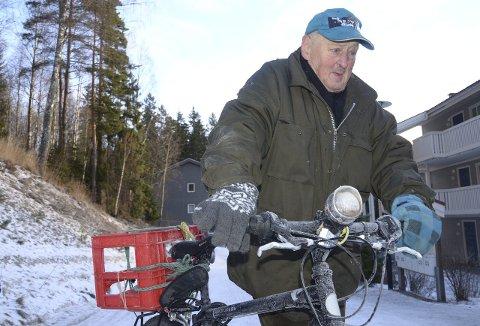 FOREDRAG: Ole-Bjørn Magnussen er en av byoriginalene det foredras om på Sandbakken. (Arkivfoto: Nina Schyberg Olsen)