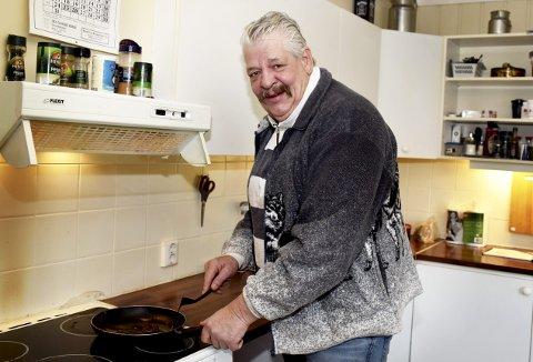 Åpner hjemmet: Arild Ørgersen inviterer til julefeiring hjemme hos seg selv på Hjellum på Otta.
