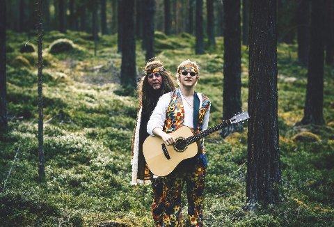 Allways Look Back: Mr Downfield og sønn kommer med ny låt og tilhørende musikkvideo. Foto: Erik Berg-Johansen