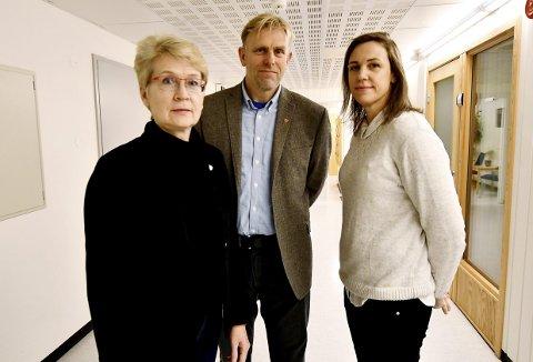 Fv Eldri Siem (ordfører i Sel), Harald Sve Bjørndal (ordfører i Vågå) og Astrid Skomakerstuen Ruste (ordfører i Dovre).