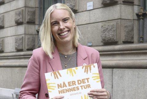 Hovedtaler: Anna Kvarberg Ekre fra Heidal er hovedtaler under 8. mars markeringen på Otta. Hun er kommunikasjonsrådgiver i CARE Norge. FOTO: CARE/Jasmin Baulhassani.