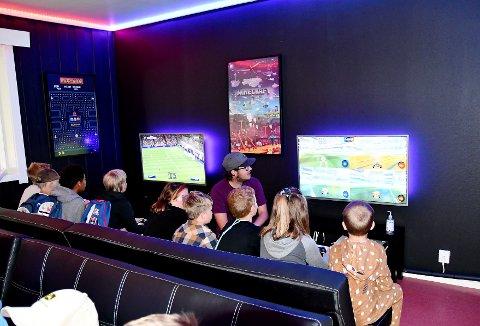 Vågå gamingrom vart opna tysdag 29. juni.